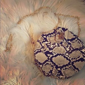 Handbags - Snake skin crossbody bag
